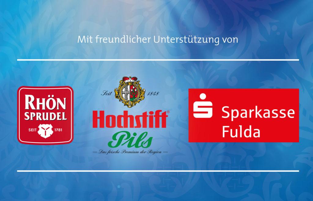 Mit freundlicher Unterstützung von Rhön Sprudel, Hochstift Pils und der Sparkasse Fulda